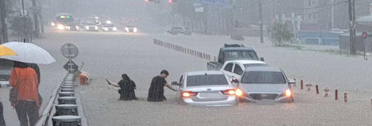 전국적 폭우 피해