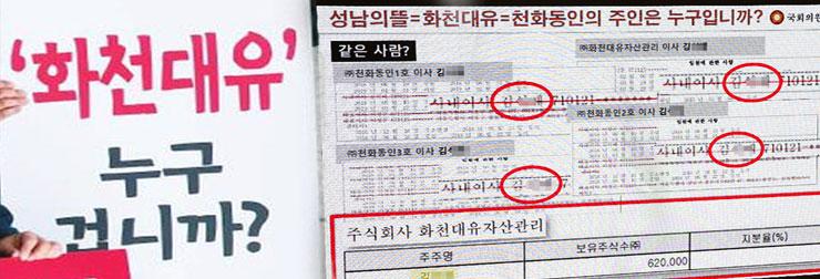 '화천대유' 특혜 의혹