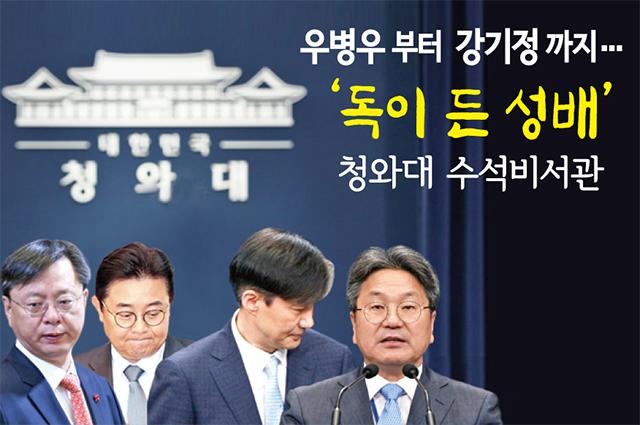 '우병우부터 강기정까지' 역대 청와대 수석 잔혹사