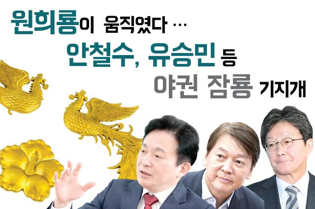 원희룡이 움직였다…안철수·유승민 등 野 잠룡 '기지개'