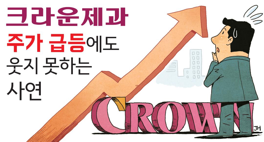 [뉴스+]`윤석열 테마` 크라운제과 주가 급등락…표정관리 어려운 총수일가