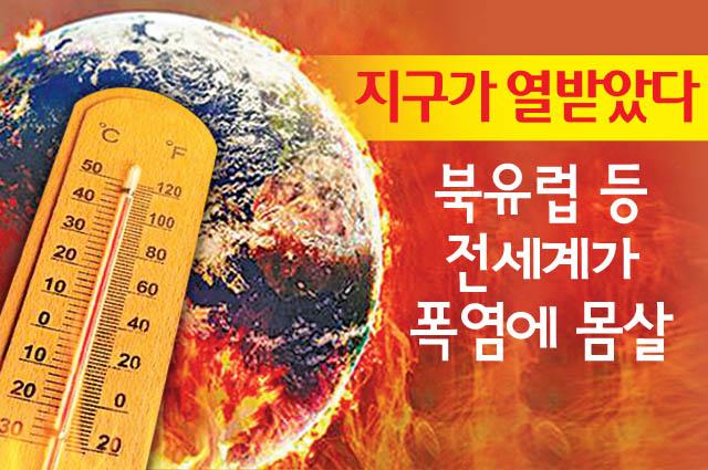 펄펄 끓는 대한민국…우리나라 폭염정책대응 어디까지