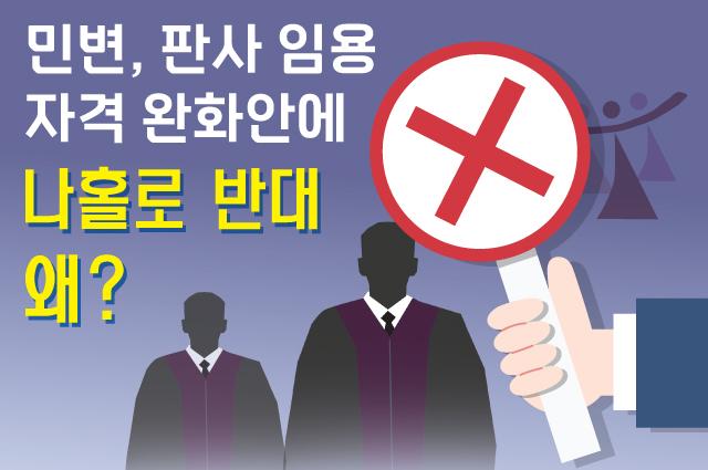 민변, 판사 임용 자격 완화안에 ''나홀로 반대'' 왜?