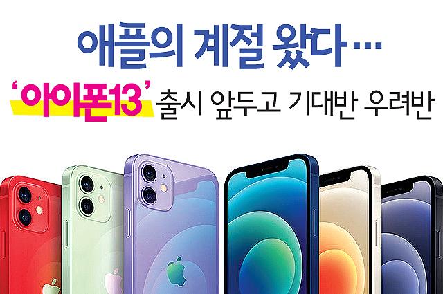 '애플의 계절' 왔는데…'아이폰13'에 쏠린 시선